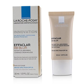 La Roche Posay Effaclar BB Blur - # Fair/Light Shade  30ml/1.01oz