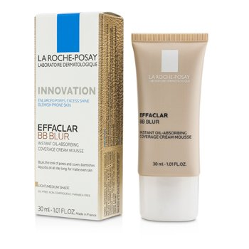 La Roche Posay Effaclar BB Blur - #Light/ Medium Shade  30ml/1.01oz