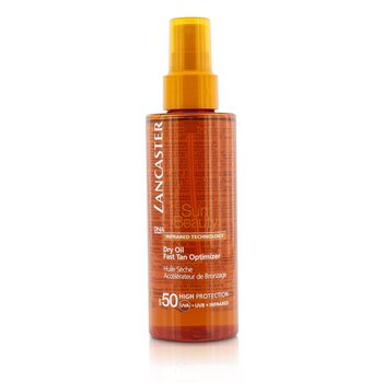 LancasterSun Beauty Aceite Seco Optimizador de Bronceado R�pido Con SPF 50 150ml/5oz