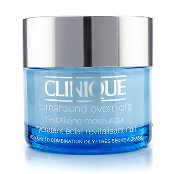 CliniqueTurnaround No�n� revitalizuj�ca a hydrata�n� starostlivos� – (pre ve�mi such� a� zmie�an� mastn� ple�) 50ml/1.7oz