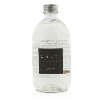 Culti Decor Room Diffuser Refill – Linfa 500ml/16.6oz