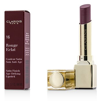 Clarins Rouge Eclat Satin Finish Age Defying Lipstick - # 16 Candy Rose  3g/0.1oz