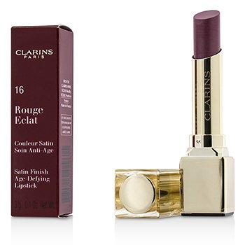 Clarins Przeciwzmarszczkowa szmink do ust Rouge Eclat Satin Finish Age Defying Lipstick - # 16 Candy Rose  3g/0.1oz