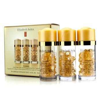 Elizabeth Arden Ceramide Gold Ultra C�psulas Ojos Lift & Fortaleza  3x30 Capsules