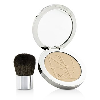 Christian Dior Diorskin Nude Air Healthy Glow Invisible Powder (With Kabuki Brush) – # 020 Light Beige 10g/0.35oz