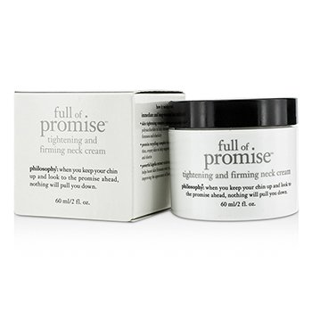 Philosophy Full Of Promise Tightening & Firming Neck Cream  60ml/2oz