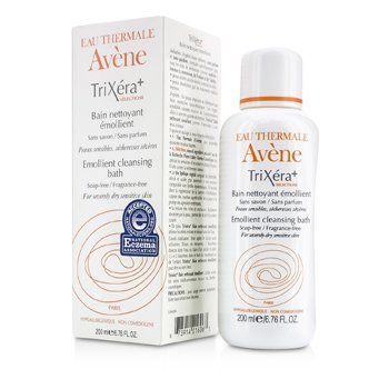 AveneTrixera+ Selectiose Emollient Cleansing Bath (For Severely Dry Sensitive Skin, Exp. Date 09/2015) 200ml/6.76oz