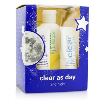 DermalogicaClear Start Set: Foaming Wash 50ml + Daytime Treatment 15ml + Overnight Treatment 15ml 3pcs