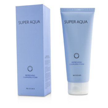 MisshaSuper Aqua Refreshing Cleansing Foam 200ml/6.8oz