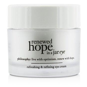 Купить Renewed Hope In a Jar Освежающий и Разглаживающий Крем для Век 15ml/0.5oz, Philosophy