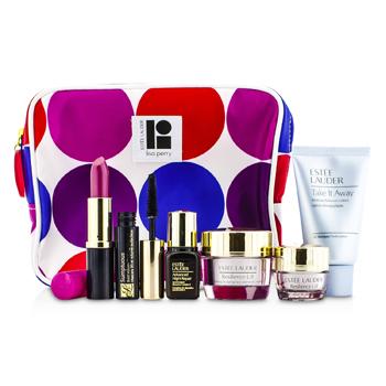 Estee LauderTravel Set: Makeup Remover 30ml + Resilience Lift Creme 15ml + Eye Creme 5ml + ANR II 7ml + Mascara 2.8ml + Lipstick #88 3.8g+ Bag 6pcs+1bag