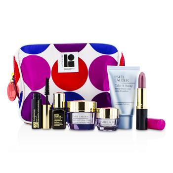 Est�e LauderTravel Set: Makeup Remover 30ml + Advanced Time Zone Creme 15ml + Eye Creme 5ml + ANR II 7ml + Mascara 2.8ml + Lipstick #61 3.8g + Bag 6pcs+1bag