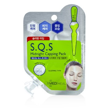 MedihealS.Q.S Midnight Capping Pack (Sebum Quick Soothing - Sleeping Type) 6pcs