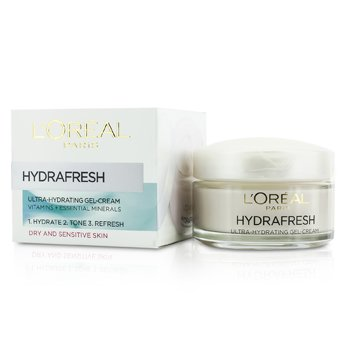 L'Oreal ������ Hydrafresh Ultra-Hydrating Gel-Cream - ����Ѻ������ & ��Ǻͺ�ҧ  50ml/1.69oz