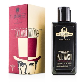 The Gentle-Man Range Frightfully Fresh Face Wash - Pomegranate  200ml/6.7oz