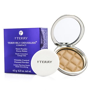 By Terry Terrybly Densiliss Compact (Wrinkle Control Pressed Powder) – # 3 Vanilla Sand 6.5g/0.23oz