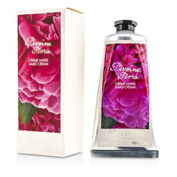 L'Occitane Pivoine Flora Hand Cream  75ml/2.6oz
