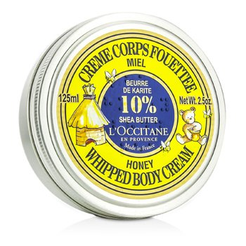 L'OccitaneL'Occitane Shea Butter Honey Whipped Body Cream 01CF100M13 125ml/2.5oz