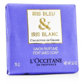 L'Occitane Iris Bleu & Iris Blanc Парфюмированное Мыло 75g/2.6oz
