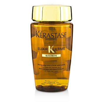KerastaseElixir Ultime Oleo-Riche Rich Shampoo (For All Thick Hair Types) 250ml/8.5oz