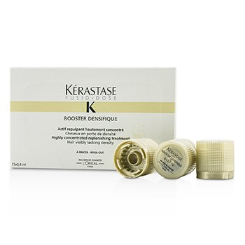KerastaseFusio-Dose Booster Densifique Highly Concentrated Replenishing Treatment (Hair Visibly Lacking Density) 15x0.4ml/0.13oz