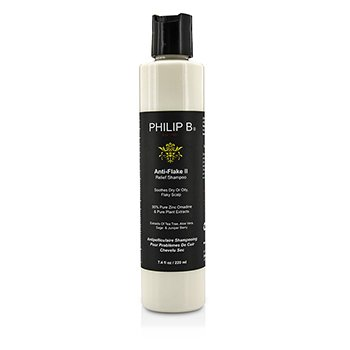 Philip BAnti-Flake II Relief Shampoo (Soothes Dry or Oily, Flaky Scalp) 220ml/7.4oz