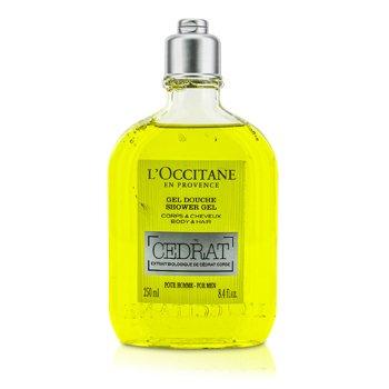 L'Occitane Cedrat Shower Gel 250ml/8.4oz
