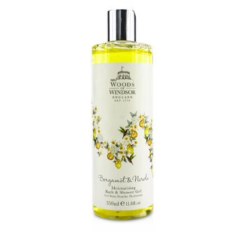 Woods Of Windsor Bergamot & Neroli Moisturising Bath & Shower Gel  350ml/11.8oz