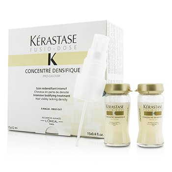 �d�� Fusio-Dose Concentre Densifique Intensive Bodifying Treatment (Hair Visibly Lacking Density) 15x12ml/0.4oz