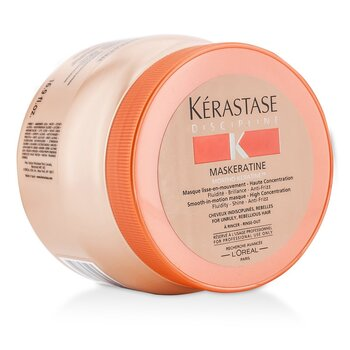 KerastaseDiscipline Maskeratine Smooth-in-Motion Masque - High Concentration (For Unruly, Rebellious Hair) 500ml/16.9oz