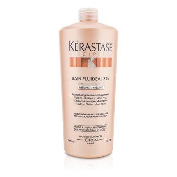 KerastaseDiscipline Bain Fluidealiste Smooth-In-Motion Sulfate Free Shampoo (For Unruly, Over-Processed Hair) 1000ml/34oz
