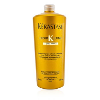 �d��  Elixir Ultime Oleo-Riche Rich Shampoo (For All Thick Hair Types)  1000ml/34oz