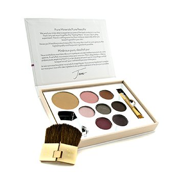 Jane IredaleColor Sample Kit - Medium Dark (1xPressed Foundation, 1xBlush, 1xConcealer, 3xEye Shadow, 1xLipstick, 1xLip Gloss,...)