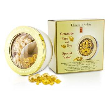 Elizabeth ArdenCeramide Gold Ultra Restorative Capsules & Strengthening Eye Capsules 2x30 Capsules