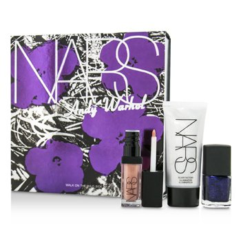 NARSAndy Warhol Walk On The Wild Side Set (1xMini Illuminator, 1xMini Nail Polish, 1xMini Lip Gloss) 3pcs