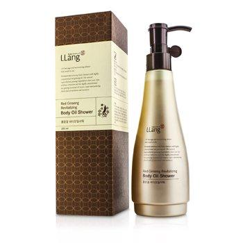 LLangRed Ginseng Revitalizing Body Oil Shower 285ml/9.6oz