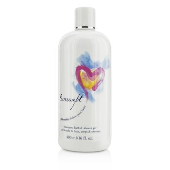 PhilosophyLoveswept Shampoo, Bath & Shower Gel 480ml/16oz