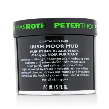 Irish Moor Mud Очищающая Черная Маска 150ml/5oz фото