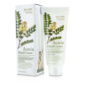 Image of 3W Clinic Hand Cream - Acacia 100ml/3.38oz