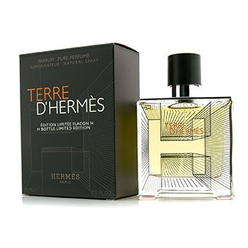 Hermes Terre D'Hermes Pure Parfum Spray (Edici�n Limitada Botella H 2014)  75ml/2.5oz