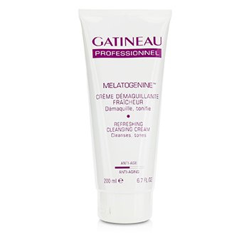 GatineauMelatogenine Refreshing Cleansing Cream - Cleanses & Tones (Salon Product) 200ml/6.7oz