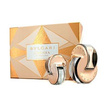 Bvlgari Omnia Crystalline Coffret: L'Eau De Parfum Spray 65ml/2.2oz + L'Eau De Parfum Purse Spray 15ml/0.5oz  2pcs