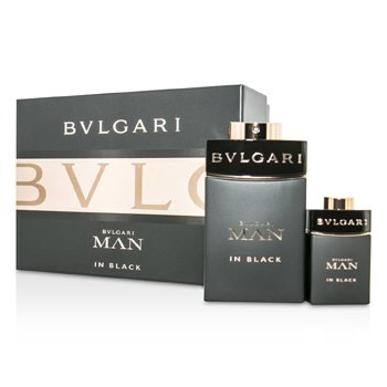 BvlgariIn Black Coffret: Eau De Parfum Spray 100ml/3.4oz + Eau De Parfum Spray 15ml/0.5oz 2pcs