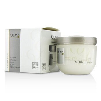 Olay Natural White UV Natural Lightening Cream SPF 18 100g/3.5oz