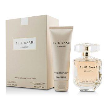 Elie Saab Le Parfum Coffret: Eau De Parfum Spray 90ml/3oz + Loci�n Corporal 75ml/2.5oz  2pcs