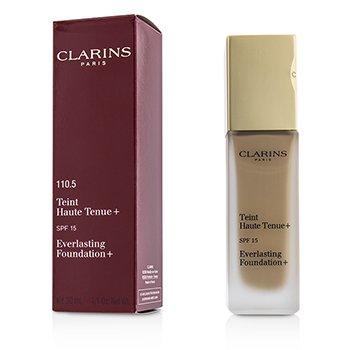 Clarins Podk�ad z ochronnym filtrem Everlasting Foundation+ SPF15 - # 110.5 Almond  30ml/1.1oz