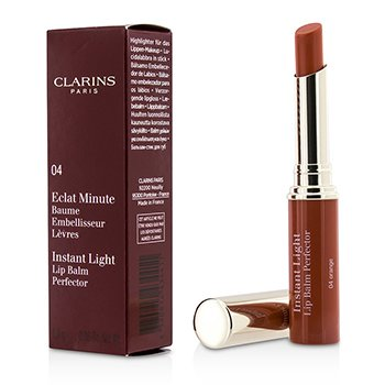 ClarinsEclat Minute Instant Light B�lsamo Labios- # 04 Orange 1.8g/0.06oz