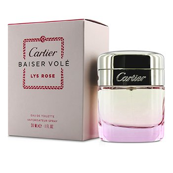 Cartier Baiser Vole Lys Rose Eau De Toilette Spray  30ml/1oz