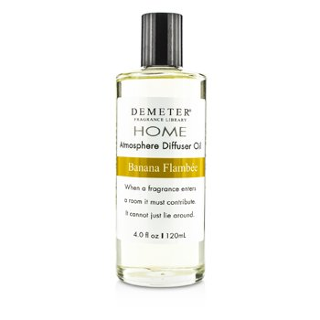 Demeter Atmosphere Diffuser Oil – Banana Flambee 120ml/4oz