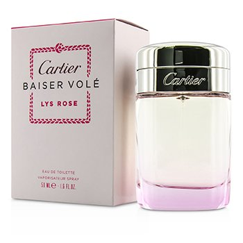 Cartier Baiser Vole Lys Rose Eau De Toilette Spray  50ml/1.6oz